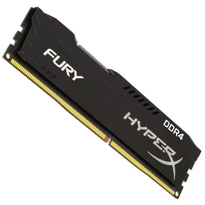 Kingston HyperX FURY DDR4 Memory 2400 8GB At 1.2V, lower power consumption than DDR3
