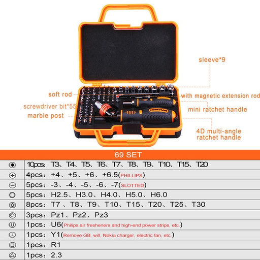 LOMVUM Screwdriver Sets Multifunctional Precision Household Tool Set Computer Repair Tool Kit Household Magnetic Screwdriver Set