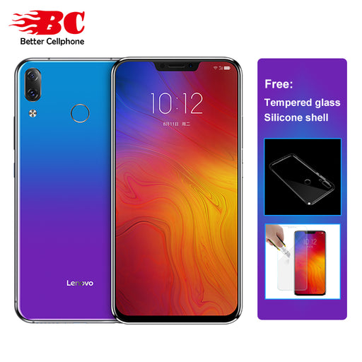 "Lenovo Z5 L78011 LTE Smartphone 6.2"" Snapdragon 636 Octa-Core 6GB RAM 64GB ROM Dual Rear Camera 16MP fingerprint ID Face ID OTG"