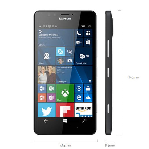 Lumia 950 Nokia Microsoft  Original Unlocked Windows 10 Mobile Phone 4G LTE GSM 5.2'' 20MP WIFI GPS Hexa Core 3GB RAM 32GB ROM