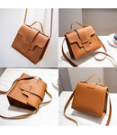 Luxury Small Leather Crossbody Bags for Women 2018 Brown Women Leather Handbags Tote Shoulder Bags Clutch Messenger Bolso Mujer