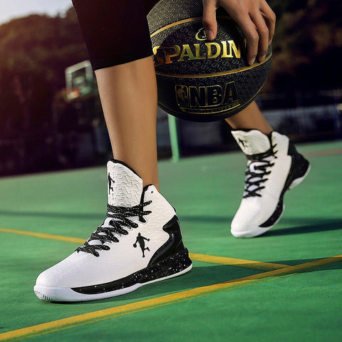 best service fca39 d4ae5 Man High-top Jordan Basketball Shoes Men s Cushioning Light Basketball  Sneakers Anti-skid Breathable