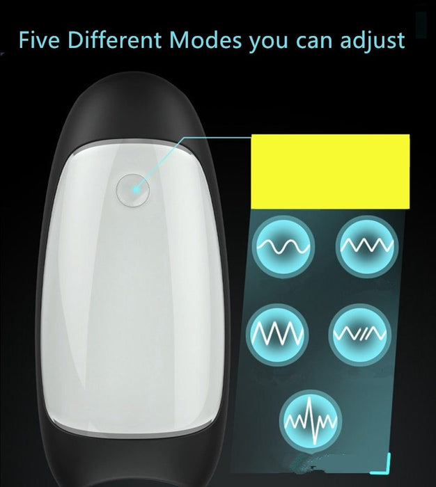 Meselo Automatic Pussy Sex Machine Oral Male Masturbator Cup 5 Speeds Vibrating Intelligent Realistic Sex Penis Toys For Men