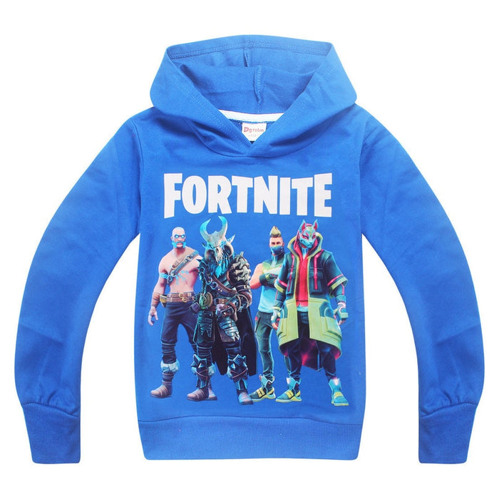 Minecraft Comfortable Autumn Long Sleeve T Shirts Tops Baby Girls Boys T-shirt Kids Clothes Baby Girl Winter Clothes Fortinet