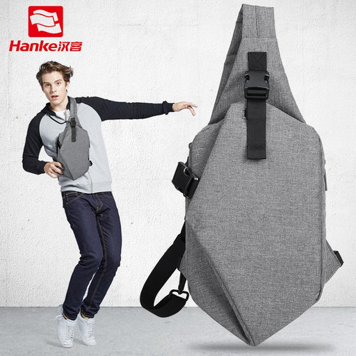 Mixi 2019 Multifunction Crossbody Bags For Men Cross Waist Shoulder Waist Chest Bag Male Messenger Bags for College Student