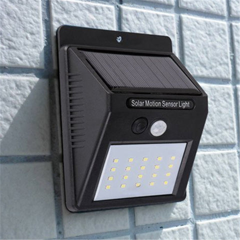 Motion Sensor Luz LED Solar Panel Wall Super Bright Light Outdoor Garden Waterproof Lamp Villa Home Street Motion Sensor Garland