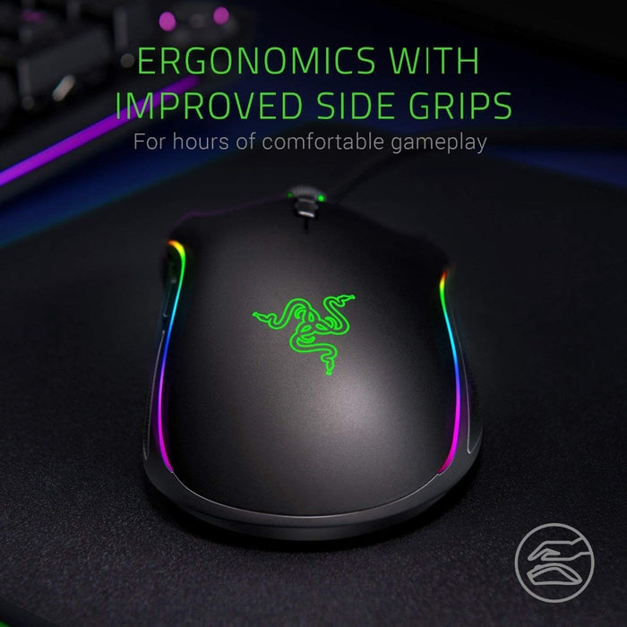 57965611a61 NEW Razer Mamba Elite Wired Gaming Mouse 16000 DPI 5G Optical Sensor Chroma  Light Ergonomic Gaming