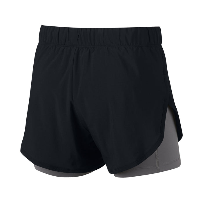 NIKE FLEX2-IN-1 Original New Arrival Woman Training Shorts Breathable Quick-dryer Shorts#AR6354