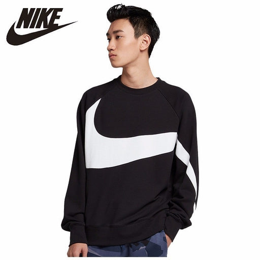 NIKE SPORTSWEAR FRENCH TERRY Man  Round Neck Jacket Comfortable Breathable Sport Sweater #AR3089-012