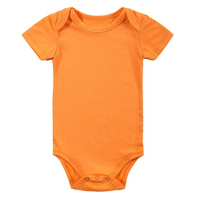 New 2016 Baby Fashion Newborn Baby Girls Boy Short Sleeve Pure Solid Summer Body Rompers Outfits Clothes