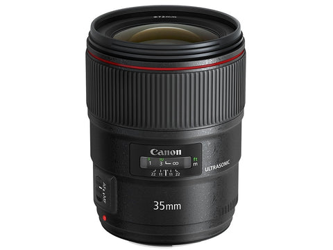 New Canon EF 35mm f/1.4L II USM Lens