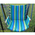 New Garden Hammocks Camping Outdoor Furniture Hanging Chair Boutique Cotton High-end Quality Stripe Swing 5 colors Best for Gift