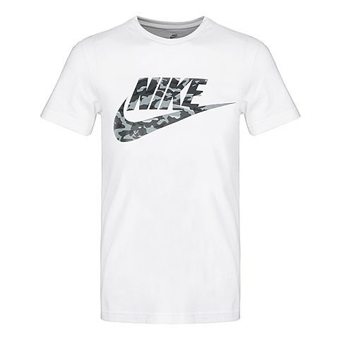 Nike AS M NSW TEE CAMO Man Running T-shirt Round Neck  Breathable Sorts Shirts Short Sleeve BQ5368