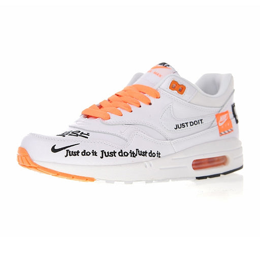 Nike Air Max 1 Just Do It Men's Running Shoes Sport Outdoor Sneakers Top Quality Athletic Designer Footwear 2018 New 917691-100
