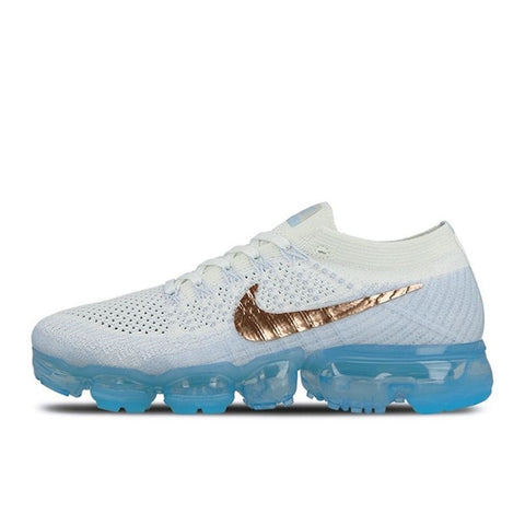 Nike Air VaporMax Flyknit Women's Breathable Running Shoes Sport Outdoor Sneakers Athletic Designer Footwear 2018 New 849557-500