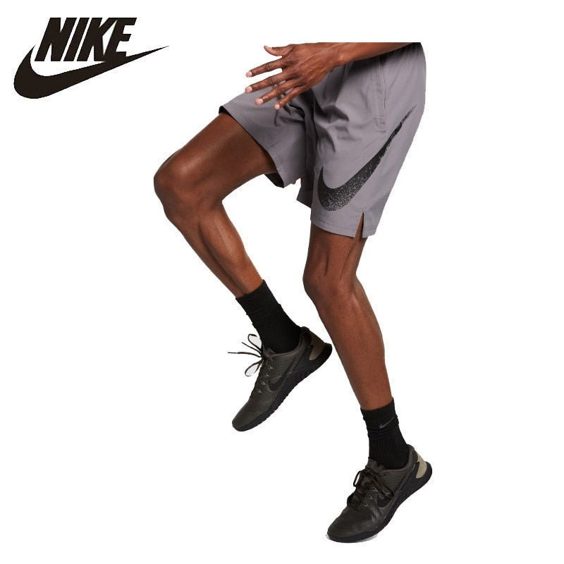 Nike Flex Men's Printing Training Shorts Outdoor Comfortable Sportswear # AJ8101