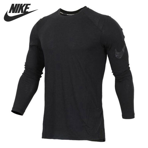 Nike Original BREATHE ELITE Men's Breathable Running T-shirt Long Sleeve Comfortable Moisture Wicking Sweatshirt #891602-010