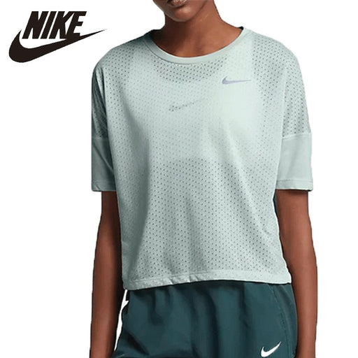 Nike Quick Dry Running T-shirt Short Sleeve Woman Breathable Training Sports Shirts 890994