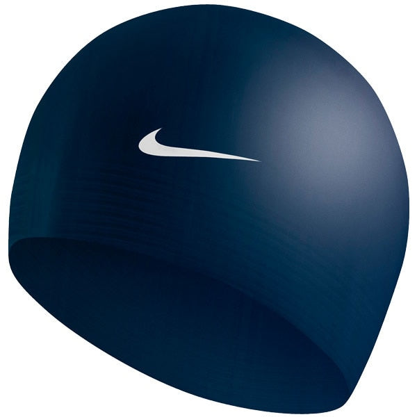 Nike Silica Gel Just Do It Waterproof Swimming Caps Men And Women Solid Color Bathing Cap 93050