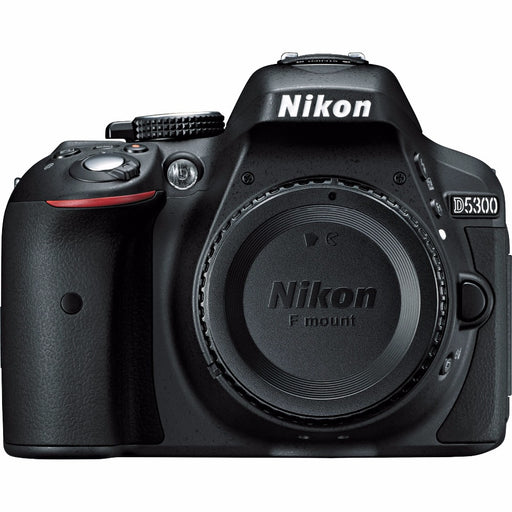 "Nikon D5300 DSLR Camera -24.2MP -1080P Video -3.2"" Vari-Angle LCD -WiFi"