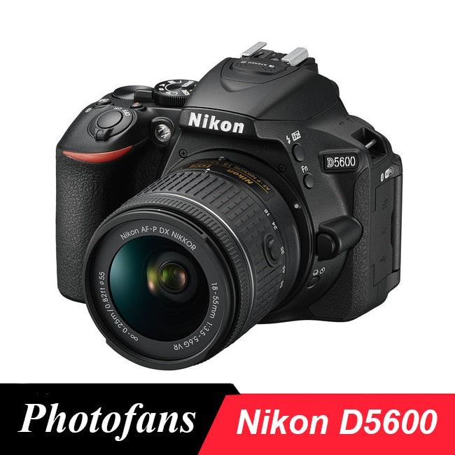Nikon D5600 DSLR Camera  -24.2MP -Full HD 1080p -Wi-Fi Bluetooth (New)