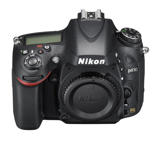 "Nikon D610 DSLR Camera FX-Format -24.3 MP -1080P Video 3.2"" LCD (Body Only)"