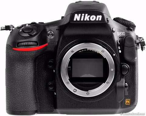 Nikon D810 36.3 MP Digital SLR Camera Body - Black Multi-language