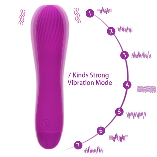 OLO G-spot Massage Dildo Vibrator 7 Speeds Powerful Vibration Female Masturbator Vagina Clitoris Stimulate Sex Toys for Woman