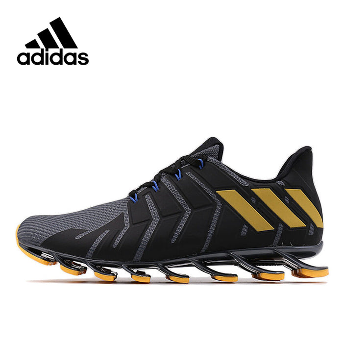 Official Original Adidas Official Springblade Pro M Men's Running Breathable Shoes Sneakers Response Cushion Comfortable Classic