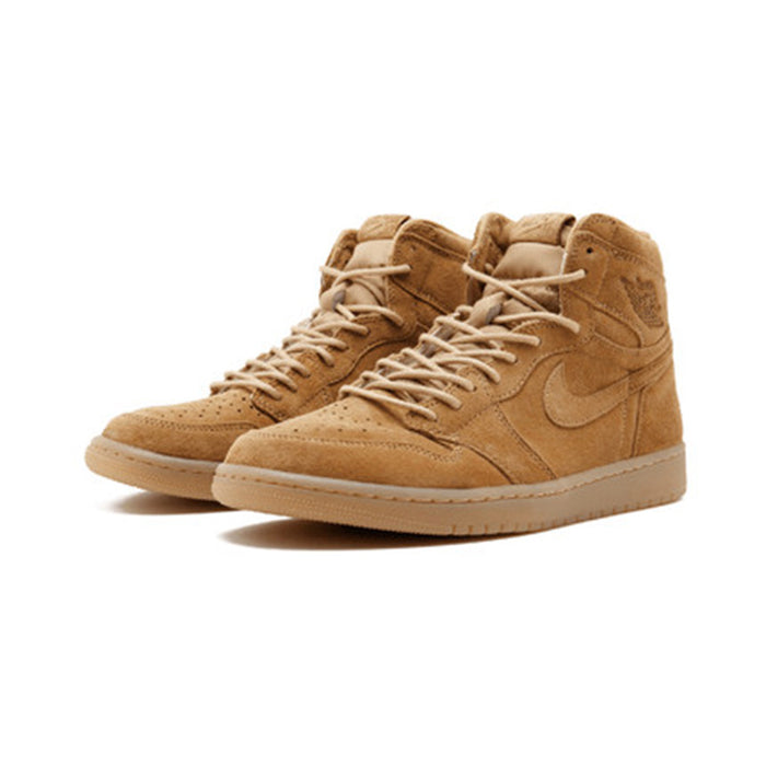 Official Original Nike Air Jordan 1 Retro High OG AJ1 Men's Basketball Shoes Professional Outdoor Sports Medium Cut 555088-710