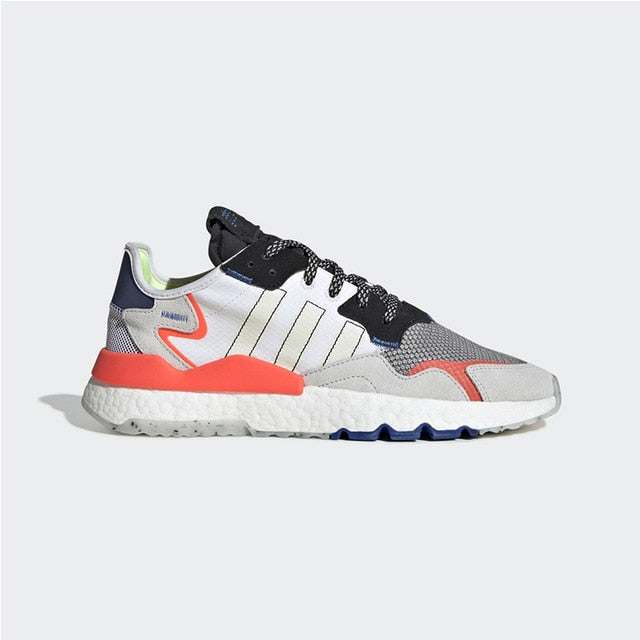Original Authentic Adidas Nite Jogger Unisex Running Shoes Fashion Trend Reflective Sports Shoes 2019 Spring New EF8718