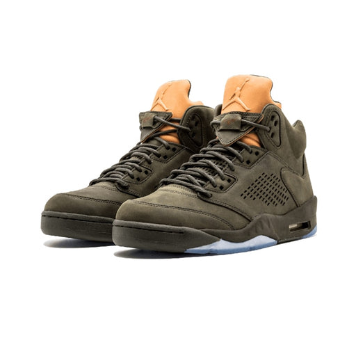"Original Authentic NIKE Air Jordan 5 Retro Prem ""Take Flight"" Mens Basketball Shoes Sneakers Sport Outdoor Waterproof 881432"
