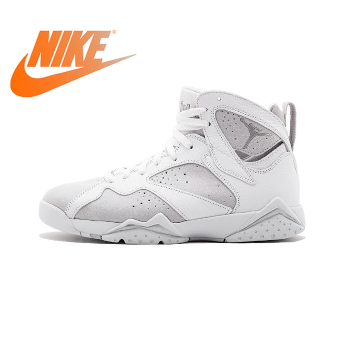 official photos 1033e 8274f Original Authentic NIKE Air Jordan 7 Retro AJ1 Mens Basketball Shoes  Sneakers DXM Thread Sport Outdoor Good Quality Breathable