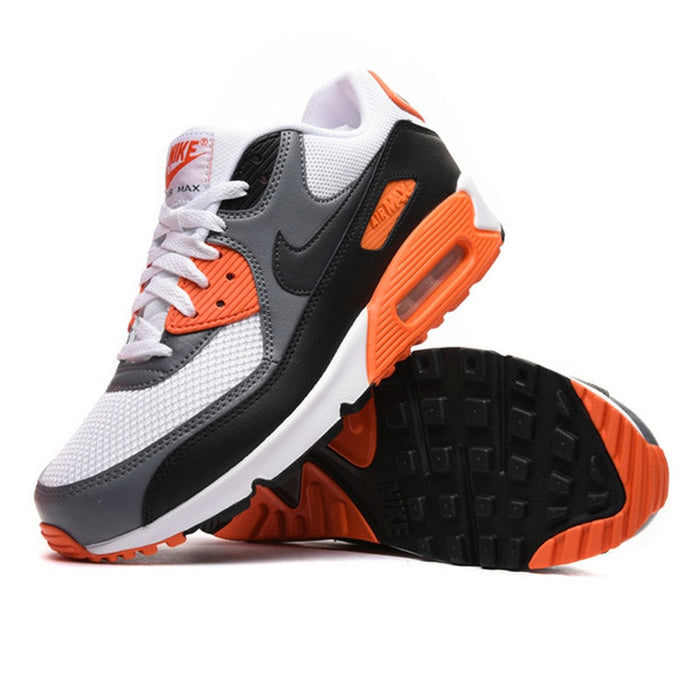 Original Authentic NIKE Men's AIR MAX 90 ESSENTIAL Breathable Running Shoes Sneakers Outdoor Sports Tennis Designer Athletic