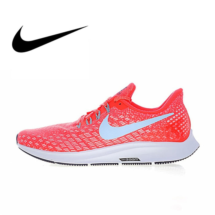 buy popular f55b6 67e60 Original Authentic Nike Air Zoom Pegasus 35 Men's Breathable Running Shoes  Outdoor Sneakers Designer Athletic 2019 New Arrival