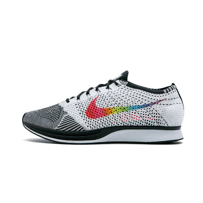 reputable site a7628 bf1b6 Original Authentic Nike Flyknit Racer Racer Be True Mens Running Shoes Sport  Outdoor Breathable Sneakers 2019