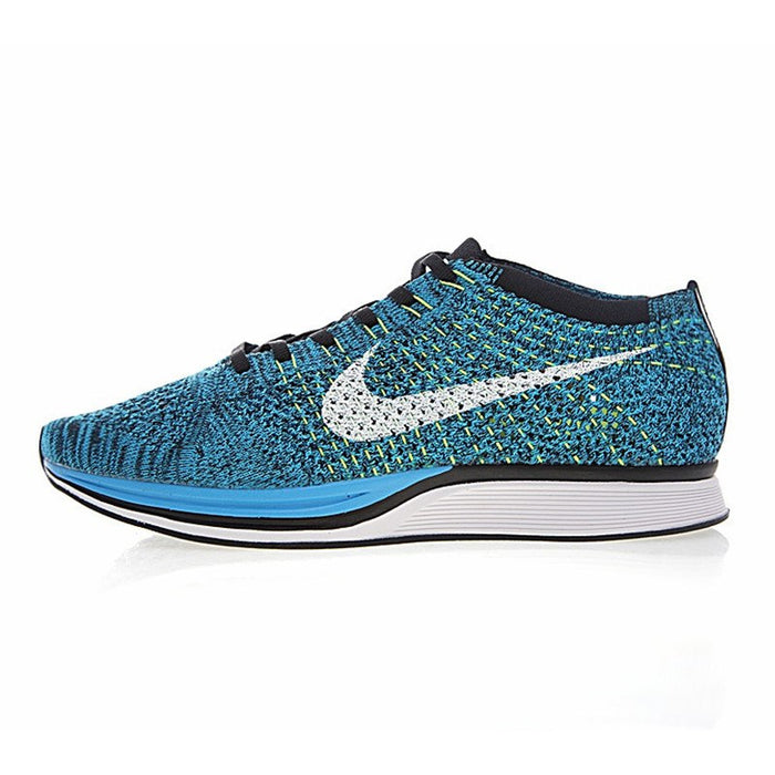 Original Authentic Nike Flyknit Racer Racer Be True Mens Running Shoes Sport Outdoor Breathable Sneakers 2019 New Arrival 902366