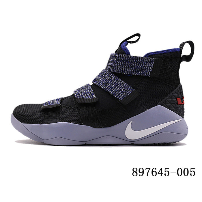 big sale b33c9 4e531 Original Authentic Nike LEBRON SOLDIER 11 Men Basketball Shoes Medium Cut  Sports outdoor Sneakers 2018 New