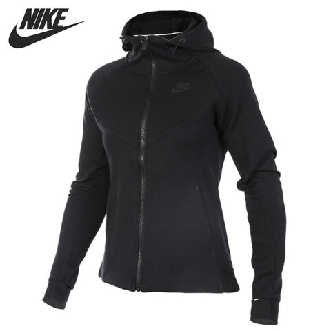 baf5b4be3fff Original New Arrival 2018 NIKE TCH FLC HOODIE FZ Women s Jacket Hooded  Sportswear