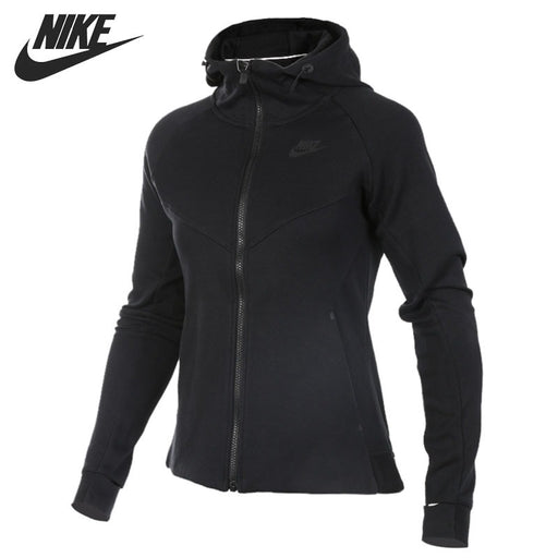 Original New Arrival 2018 NIKE TCH FLC HOODIE FZ Women's Jacket Hooded Sportswear