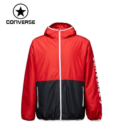 Original New Arrival 2019 Converse Insulated Windbreaker Men's Jacket Hooded Sportswear
