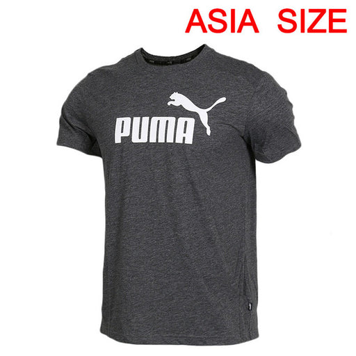 Original New Arrival 2019 PUMA ESS+ Heather Tee Men's T-shirts  short sleeve Sportswear