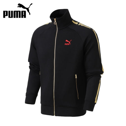 Original New Arrival 2019 PUMA LUXE PACK Track Jacket Dk Men's  jacket Sportswear
