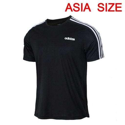 Original New Arrival  Adidas  D2M Tee 3S Men's  T-shirts  short sleeve Sportswear