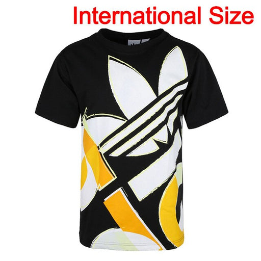 Original New Arrival  Adidas Originals BOLD GRAPHIC T Men's T-shirts short sleeve Sportswear