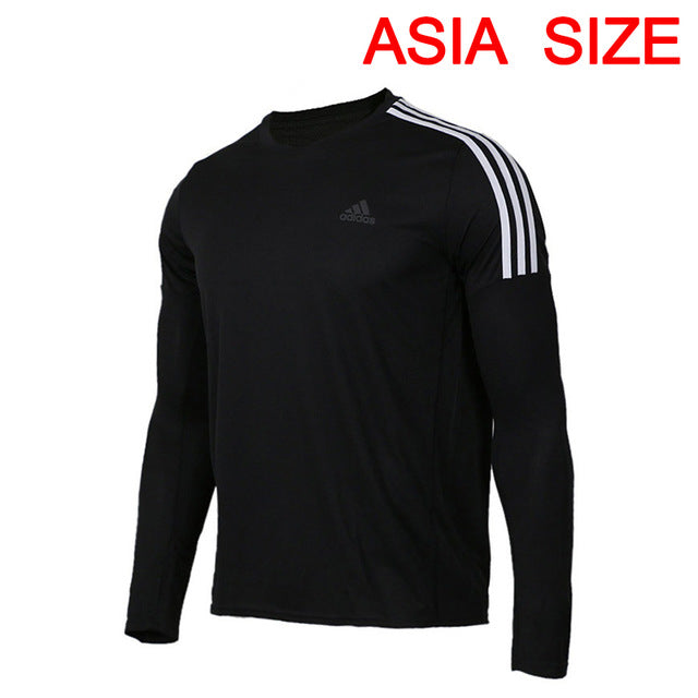 Original New Arrival  Adidas RUN 3S LS M Men's T-shirts Long Sleeve Sportswear