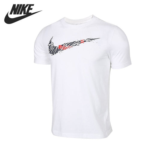 Original New Arrival NIKE AS M NK DRY TEE BB SWOOSH Men's T-shirts short sleeve Sportswear