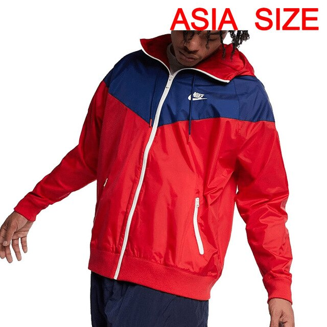 Original New Arrival  NIKE AS M NSW HE WR JKT HD Men's Jacket Hooded Sportswear