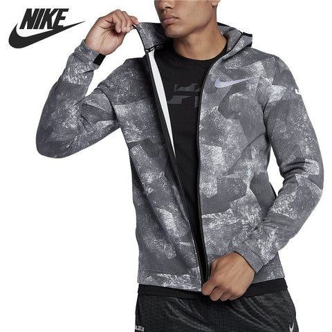 Original New Arrival NIKE ASM SHOWTIME HD FZ Men s Jacket Hooded Sportswear 3a33160777b2