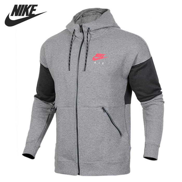 Original New Arrival  NIKE HOODIE FZ AIR Men's Jacket Hooded Sportswear